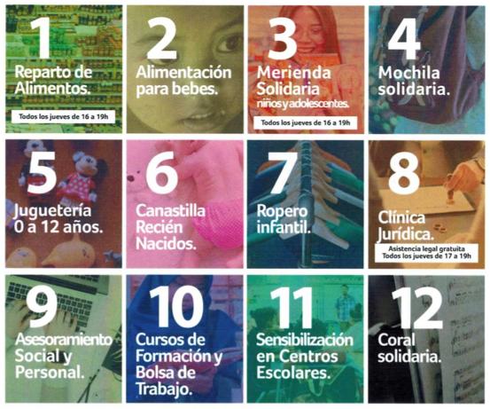 12 programas solidarios