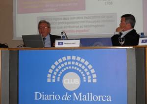 Conferencia del Padre Lamet en el Club Diario de Mallorca