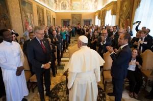 vaticano encuentro con el Papa